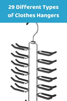 A Tie hanger to organize your ties and make it easy for you to find an specific one. #hangers #clothing #wardrobes #homeideas