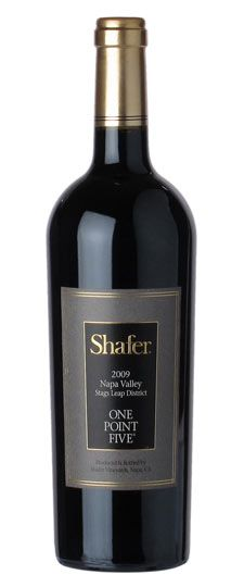 """2009 Shafer """"One Point Five"""" Stags Leap District Cabernet Sauvignon (New Years 2014, Ojai Valley)"""