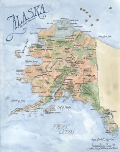 Where Is Alaska On The Map Bing Images Alaska Pinterest Alaska - Is alaska in the united states
