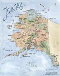 map of alaska alaska map size 91k alaska map index united