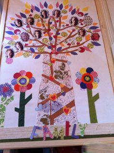 Stamboom scrap, family tree scrap