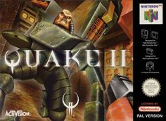 Quake II - Game Original Nintendo 64 game cartridge only. All DK's classic used games are cleaned, tested, guaranteed to work and backed by a 120 day warranty. Nintendo 64 Games, Nintendo N64, Playstation, Id Software, Future Games, Video Game Collection, Childhood Games, Original Nintendo, Game Guide