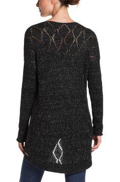 BOSS Orange Sweater 'Wiltoria' in a material blend Black