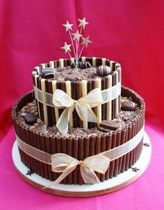 Malteser Wafer Stick Cake Cakes Cake Decorating Pinterest