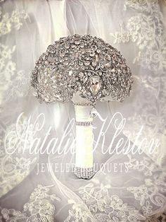 Wedding Alternative Brooch Bouquet. Deposit on par NatalieKlestov