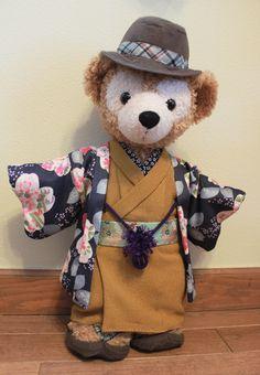 ダッフィー着物06 Duffy The Disney Bear, Teddy Bear, Kawaii, Cartoon, Toys, Friends, Blog, Animals, Clothes