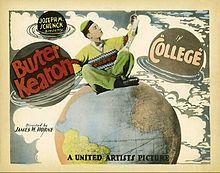 College (1927) - Buster Keaton, Anne Cornwall & Harold Goodwin