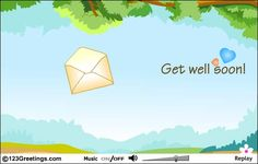 Simple, yet effective little get well :)