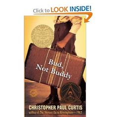 It's in Flint, Michigan, and when Bud decides to hit the road to find his father, nothing can stop him. Winner of the 2000 Newbery Medal, and the 2000 Coretta Scott King Award.we r reading this in school Up Book, This Book, Newbery Award, Newbery Medal, B 13, Reading Levels, Reading Groups, Reading Nook, Reading Lists