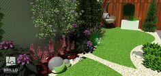 Ogród przy szeregowcu