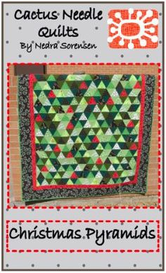 Quilting Blog - Cactus Needle Quilts, Fabric and More: Christmas ... : quilting blogs christmas - Adamdwight.com