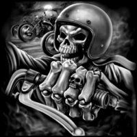 biker (@gerarditomuris1) / Twitter Biker Tattoos, Motorcycle Tattoos, Motorcycle Art, Bike Art, Skull Tattoos, Motorcycle Memes, Motorcycle Store, Bleistift Tattoo, David Mann Art