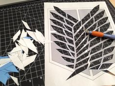 How to paint a logo on fabric