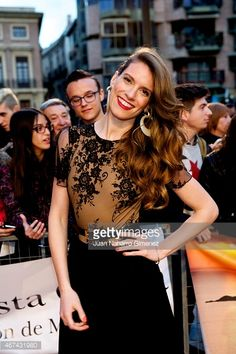 Mariona Tena attends 'Seis Hermanas' premiere during FesTVal Murcia 2015 on March 24, 2015 in Murcia, Spain.