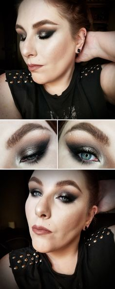 Get the Look   Belonging to the Darkness - Makeup Tutorial feat. Huda Beauty Smoky Palette