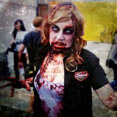 Zombie Walking Dead Cosplay