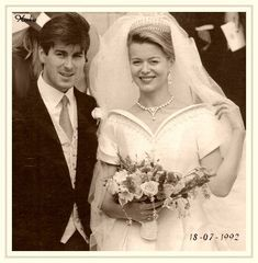 Tim Taylor and Lady Helen Windsor