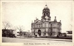Court House Columbia City Indiana