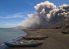 Tavurvur Rabaul volcano - Papua New guinea