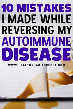I successfully reversed my Hashimoto's Disease and several autoimmune-related symptoms, but made quite a few major mistakes along the way that slowed me down. #autoimmunediseaseliving #reversingautoimmunedisease #healingautoimmunedisease What Is Celiac Disease, Celiac Disease Diagnosis, Autoimmune Disease Awareness, Rheumatoid Arthritis Awareness, Hashimoto Thyroid Disease, Rheumatoid Arthritis Treatment, Essential Oils Rheumatoid Arthritis, Chronic Illness Humor, Chronic Fatigue Treatment