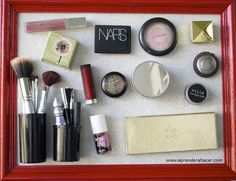 tablero magnetico para cosmeticos
