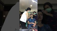 Team rtdiSoho Makeup & Hairdo in Action.