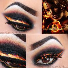 Burning Eyeliner, Hunger Games https://www.makeupbee.com/look.php?look_id=86057