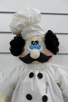 PUXA-SACO COZINHEIRO - Pronta Entrega na cor da foto     Produzido em tecido 100% algodão em padrão aleatório, conforme disponibilidade do mercado.