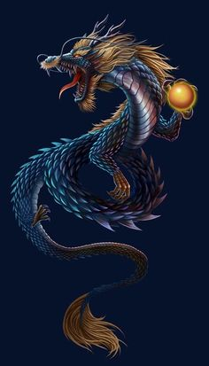 "♥ ""Chinese Dragon"" de Jason liu"