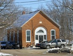 Former Clover School (1 room schoolhouse), Lapeer, MI, 3/27/11 (Now serves at meeting place for AA)