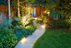 Tropical Gardens Design Ideas, Pictures, Remodel and Decor