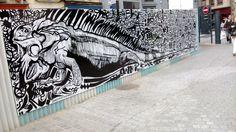Place Sainte Anne July 2014 #streetart #grafitti #tag