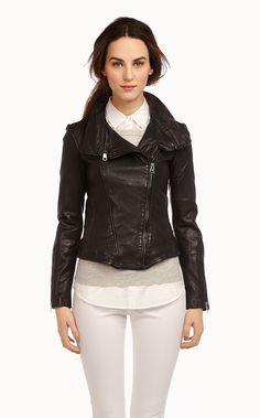 Soïa & Kyo - Glenna leather jacket 2013
