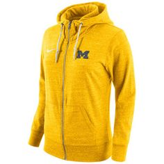 Show your Michigan Wolverines allegiance in this Michigan Wolverines Tailgate Gym Full Zip Jacket. Rally House has a great selection of new and exclusive Michigan Wolverines t-shirts, hats, gifts and apparel, in-store and online. Nike Hoodie, Fleece Hoodie, Hooded Sweatshirts, Pullover, University Of Michigan Apparel, Oregon Ducks Hoodie, Yellow Hoodie, Usc Trojans, Michigan Wolverines