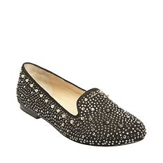 GRAANITE BLACK MULTI women's tailored man tailored loafer - Steve Madden #spikes #studs