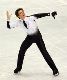 Photos of Famous People in Figure Skating : Brian Joubert - French Figure Skater and World Figure Skating Champion