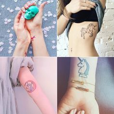 21 Unicorn Tattoos For the Person Who Wants to Make Magical Vibes Permanent