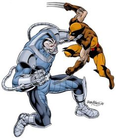 Wolverine and Apocalipsis