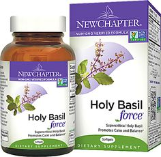 New Chapter Supercritical Holy Basil Force™