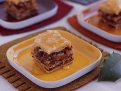 Mixed-Nut Honey Baklava