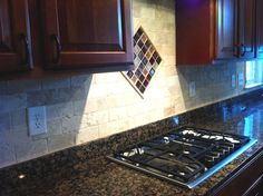 what backsplash goes with baltic brown | Kiran – Baltic Brown Granite Kitchen Countertop