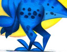 "Consulta mi proyecto @Behance: ""Dinosaurio"" https://www.behance.net/gallery/46293631/Dinosaurio"