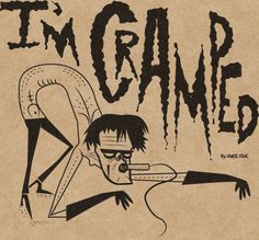 Lux Interior The Cramps by Chris Sick