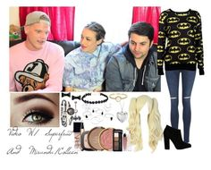 """Video With Superfruit and Miranda/Colleen"" by o2landlittlemix4ever on Polyvore featuring George, M:UK, Giuseppe Zanotti, Irene Neuwirth, Blue Nile, Marc by Marc Jacobs, NARS Cosmetics, L'Oréal Paris, Milani and women's clothing"
