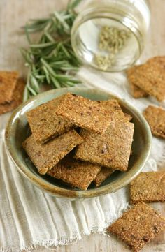 """Pizza crackers! (Paleo) omit tomatoes for nightshade-free, and be sure all seasonings are gluten free. Remember, powdered seasonings may contain gluten agents to create the """"powder"""" - these products are often not marked gluten-free."""