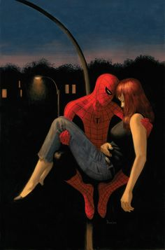 Spider-Man & Mary Jane Watson by Paolo Rivera