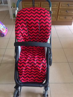 https://www.facebook.com/Starfishbabiesbugaboocustoms I make custom liners for bugaboo donkey, cameleon, frog, gecko, bee prams. They are all natural cotton outer with a cotton/bamboo inner this one is reversible red and black chevron
