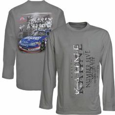 Chase Authentics Kasey Kahne Sheet Metal Long Sleeve T-Shirt by Football Fanatics. $24.99. Screen print graphics. Imported. Officially licensed NASCAR product. Tagless collar. Chase Authentics Kasey Kahne Sheet Metal T-Shirt - Charcoal100% CottonImportedTagless collarScreen print graphicsOfficially licensed NASCAR product100% CottonScreen print graphicsTagless collarImportedOfficially licensed NASCAR product