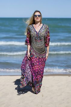 a9b613494a Prom and Party Dresses, Boho Style Beach Tunics, Kaftans and Cover-Ups