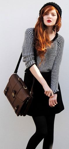 easy to go with retro satchel